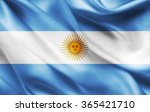 Argentina Flag Of Silk