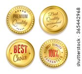 best choice quality premium 4... | Shutterstock .eps vector #365442968