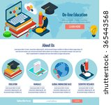 one page online education web...