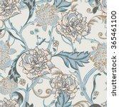 vintage shabby seamless pattern ... | Shutterstock .eps vector #365461100