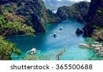 the philippine coron island | Shutterstock . vector #365500688