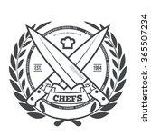 chefs vintage t shirt graphics... | Shutterstock . vector #365507234