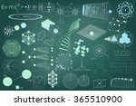 big collection of elements ... | Shutterstock .eps vector #365510900