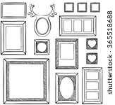 seamless wallpaper with... | Shutterstock .eps vector #365518688