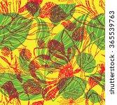 seamless floral pattern ... | Shutterstock . vector #365539763