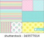 scrapbook design elements ... | Shutterstock .eps vector #365577014