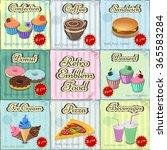 vector image of logos  posters  ... | Shutterstock .eps vector #365583284