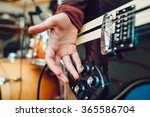 man playing guitar | Shutterstock . vector #365586704