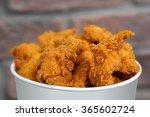 chicken bucket | Shutterstock . vector #365602724