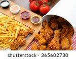 chicken bucket | Shutterstock . vector #365602730