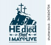 bible lettering. easter.