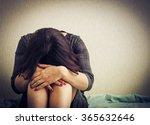 depression. lomo effect | Shutterstock . vector #365632646