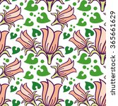 seamless pattern with... | Shutterstock .eps vector #365661629