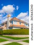 a perfect neighborhood. houses... | Shutterstock . vector #365663240