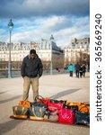 paris   jan. 2  2014  purse... | Shutterstock . vector #365669240