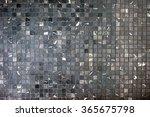 Small Black Grey Mosaic Tiles