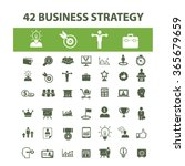 business strategy  icons  signs ... | Shutterstock .eps vector #365679659