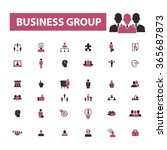 business group  workforce  team ... | Shutterstock .eps vector #365687873
