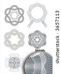 tangier rosettes   Shutterstock .eps vector #3657113
