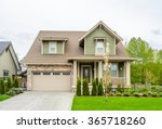 a perfect neighborhood. houses... | Shutterstock . vector #365718260