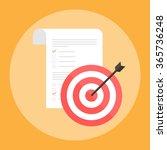 target icon vector | Shutterstock .eps vector #365736248
