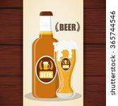 beer icon design  | Shutterstock .eps vector #365744546