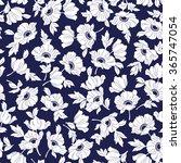 flower illustration pattern | Shutterstock .eps vector #365747054