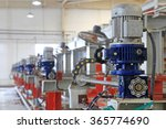 ceramic production machinery... | Shutterstock . vector #365774690