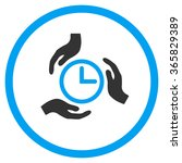 time care glyph icon. style is... | Shutterstock . vector #365829389