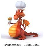 fun dragon | Shutterstock . vector #365833553