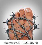 foot pain podiatry medical... | Shutterstock . vector #365850773