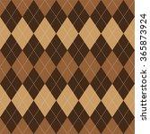 argyle basic seamless texture... | Shutterstock . vector #365873924