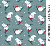 seamless pattern with different ... | Shutterstock .eps vector #365876783