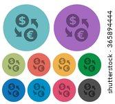 color dollar euro exchange flat ...