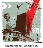 vector grunge background | Shutterstock .eps vector #36589645