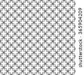seamless black and white... | Shutterstock .eps vector #365904209