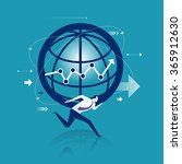 heavy duty. business concept | Shutterstock .eps vector #365912630