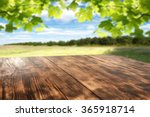 Spring Green Background Of...
