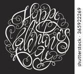 valentines day card design....   Shutterstock . vector #365922269