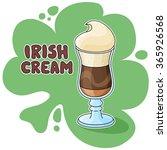 Irish Cream Coffee Illustratio...