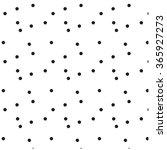 pattern black dot vector | Shutterstock .eps vector #365927273