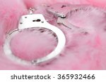 handcuffs in a background of... | Shutterstock . vector #365932466