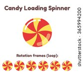 spinning candy preloader for...