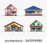 set of various design color... | Shutterstock .eps vector #365994980