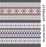 set of ethnic ornament pattern... | Shutterstock .eps vector #365998619