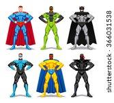 vector set of different... | Shutterstock .eps vector #366031538