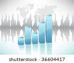 business chart | Shutterstock .eps vector #36604417