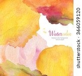 abstract acrylic and watercolor ... | Shutterstock . vector #366059120