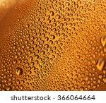 water drops on beer background | Shutterstock . vector #366064664