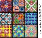 vector seamless pattern ethnic... | Shutterstock .eps vector #366072560